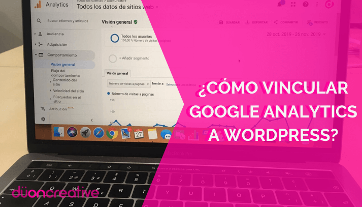 Cómo vincular Google Analytics con Wordpress