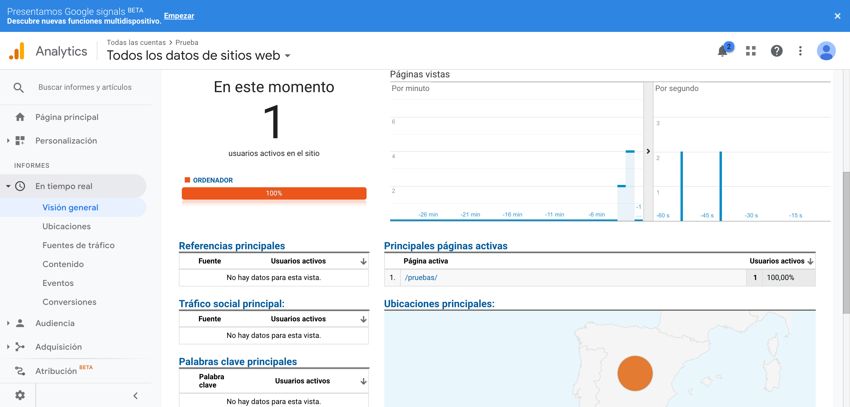 Instalar Analytics en Wordpress