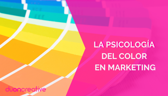 la psicología del color en marketing
