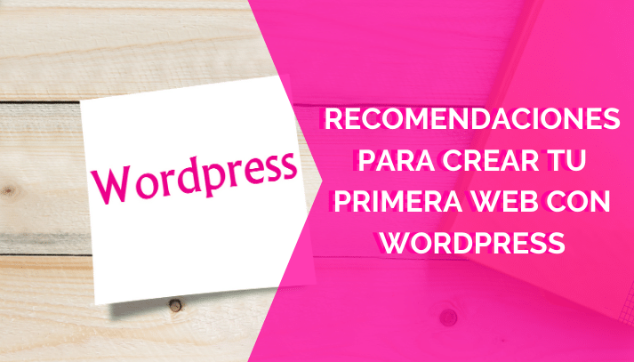 crear tu primera Web con WordPress